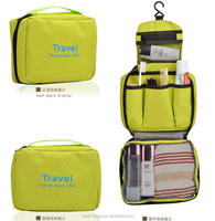 New product Multi-functional hanging toiletry travel bag organizer for travel use cosmetic pouch bag toiletries pouch bag