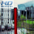 Welded Wire Mesh Triangle Bends Fence For Garden