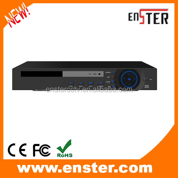 16CH newest cctv DVR AHD HD three in one DVR with 2Sata ports