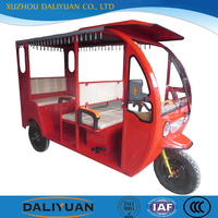 Daliyuan India rickshaw solar electric tricycle spare parts for passenger