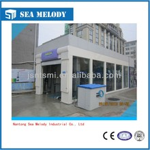 full-automatic 60 cars/ hour cleaning tunnel type car wash machine with good after sales service
