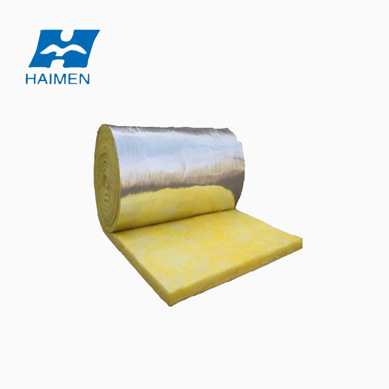 glass wool vacuumed packing blanket thermal insulation