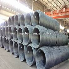5.5mm quality high carbon steel wire rod