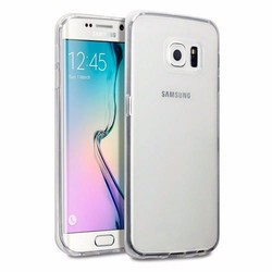 Crystal Clear Silicone Case For Samsung Galaxy S6 Edge Cover