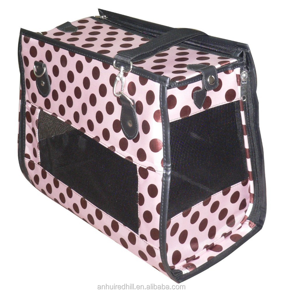 Portable Pet Home Collapsible Soft Crate Dog Carrier