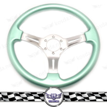China Auto Steeringwheel 3 Wheel Car Car Rims PVC Steering Wheel For Racing Car Parts