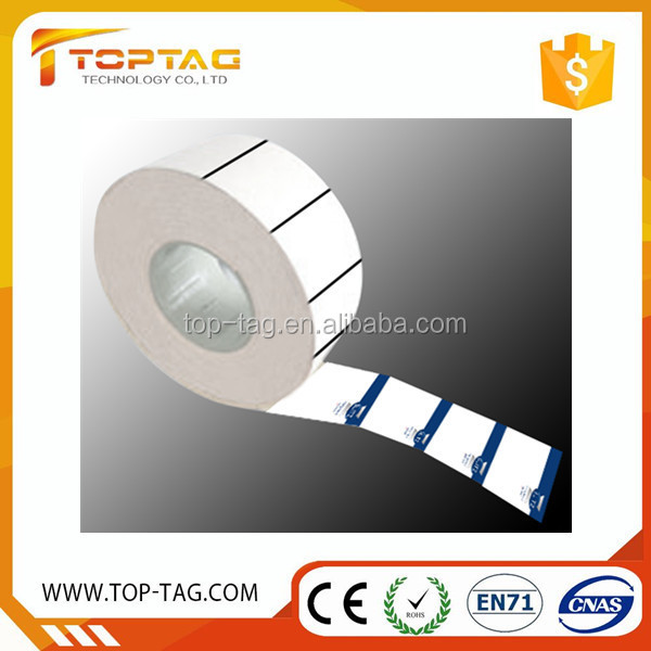 disposable rfid uhf tag , blank thermal paper rolls for ticket