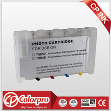 t5852 cartridge for Epson Picture Mate PM210/250/270/235/215 refillable ink cartridge