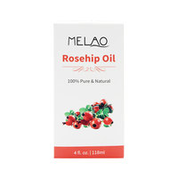 100% Pure Organic Cold Pressed Premium Rose Hip Seed Essential Oil for Face and Nails and Hair and Skin 4 oz
