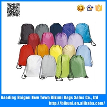 Factory outlet wholesale cheap bags promotional shopping bag custom oem drawstring bag backpack made in China