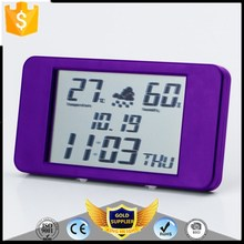 KH-0377 Calendar Temperature Sensor Alam Clock Automatic Digital Weather Station