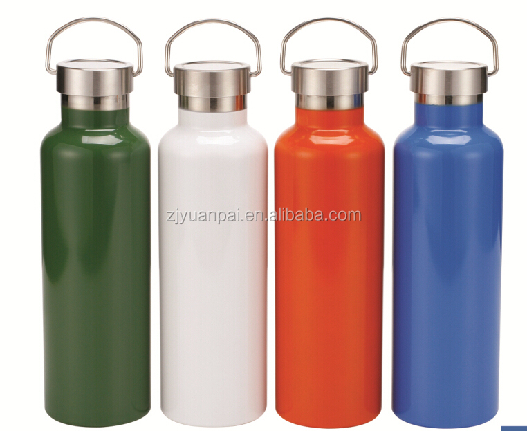 Wholesale double wall stainless steel vacuum flask thermos / thermos water bottle