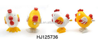animals plastic toy wind up chicken, promotional toy wind up chicken