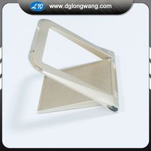 Rapid CNC machining fashion anodized aluminum mobile phone holder accessories parts