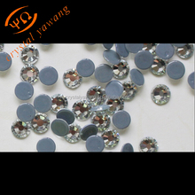 Crystal Castle 5a Glass Wholesale Crystal Ss16 Clear White Wedding Decoration Strass Hotfix Rhinestone Crystal