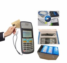 GPRS Portable Bus POS Terminal With Thermal Printer For Bus Ticket Card Validator