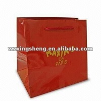 lowest price high quality fashion Packaging paper gift bag OEM paper pop show