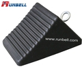 high quality durable rubber wheel chock for most vehicles