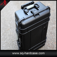 chinese shard plastic military tool case with foam