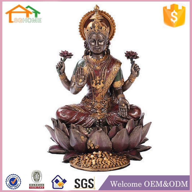 Factory Custom made home decoration polyresin hindu god statues for sale