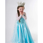 Date Enfants Robe Elsa Anna Costume Party Robe
