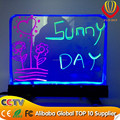 alibaba best selling CE&ROHs desktop led writing board best for catching eyes