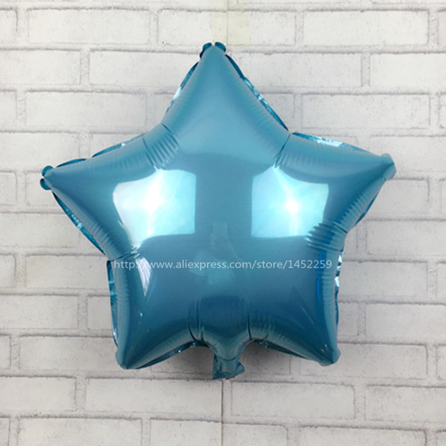 18 inches monochrome aluminum helium balloon wedding holiday party birthday balloons wholesale children's toys