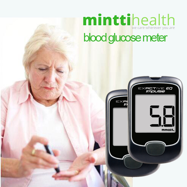 MIinttihealth Exactive EQ Impulse professional blood glucose meter glucometer for diabetes patients