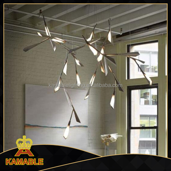 Modern iron and acrylic pendant lamp for home decorative (KA8333)