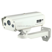 1/3 Sony CCD Effio-P Real WDR 700 TVL Long-Range License Plate LPR Camera 9-22mm Lens, 3D-DNR, DC 12v, 2yr