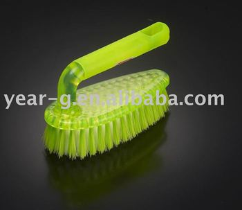 plastic cute cleaning brush