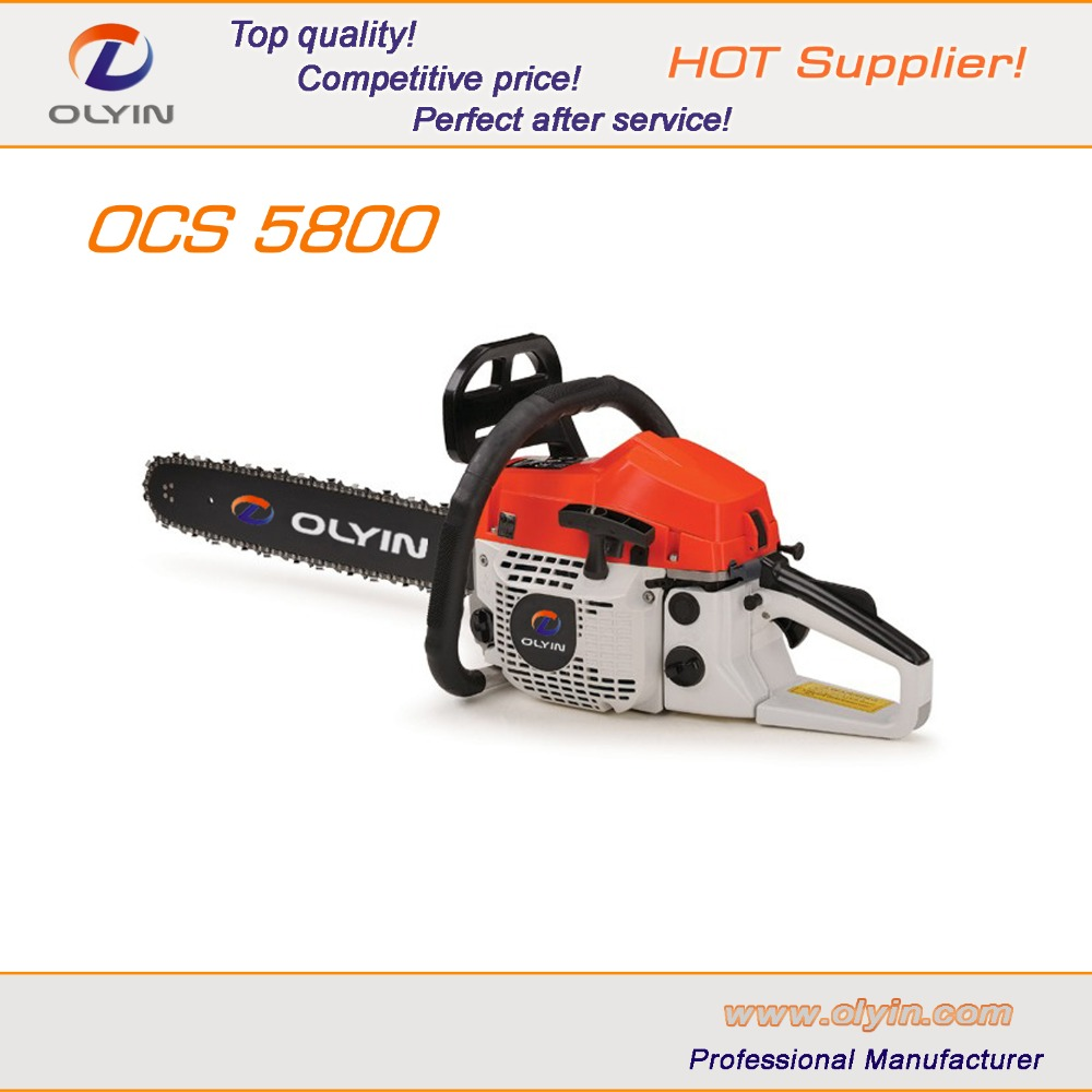 OLYIN 58cc professional and premium petrol chainsaw OCS-5800A
