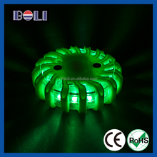 Round magnetic led traffic singnal beacon warning light