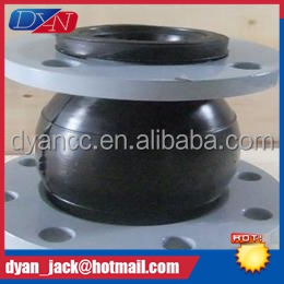 High elastic Eccentric reducer rubber pipe joints To compensate the displacement