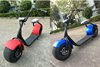 2016 new product Cheap big 2 seats electric kick moped scooter 1000W for kids