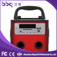 Wholesale Bluetooth good fm radio usb sd card reader mp3 mp4 speaker with FM radio