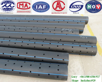 Professional manufacturers HDPE perforated pipe