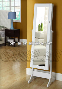 Big Floor Standing Dressing Mirror white Design