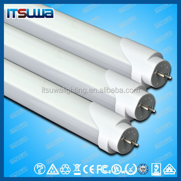 Guangzhou/Pazhou Lighitng Fairs Official Partner LED tube light T8 aluminum plastics 9-25w for exhibiting halls