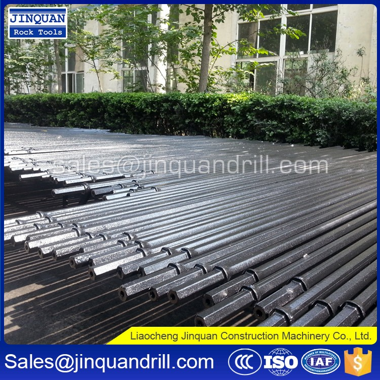 Chinese suppliers tapered drill rod/ integral drill steel with competitive price