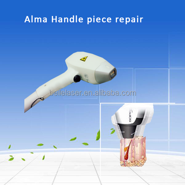 Repair 808nm diode laser hair removal machines/hair removal diode handle piece/laser hair removel machine