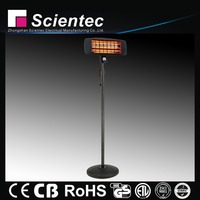 Scientec Good Selling Quartz Free Stand Infrared Heater Manufacture