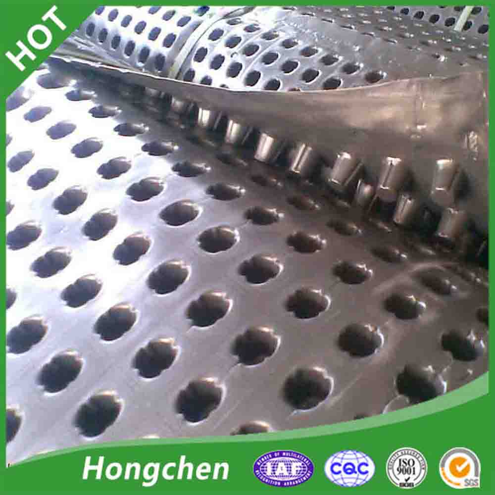 HDPE plastic dimple mat cell and drainage plate