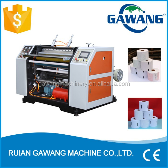 HAS VIDEO Thermal Cash Paper Fax Paper Slitting and Rewinding Machine (Heavy Duty)