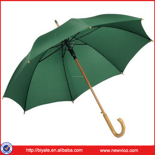 Man's Straight Walking Stick Rain Umbrella