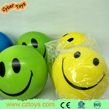 Wholesales kids pu stress smiley ball toys for promotional gift