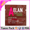YASON grip plastic reclosable bag ldpe plastic ice plastic candy wrappers