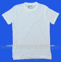100% POLYESTER T-SHIRT FOR SUBLIMATION PRINT