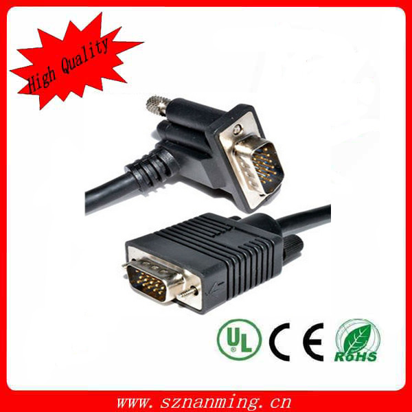 New Brand 2017 Custom color vga 15pin male to dvi 24 1 pin cable