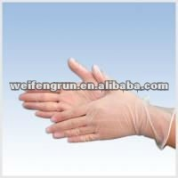 AQL1.5 Vinyl PVC medical Gloves Examination/Exam Gloves